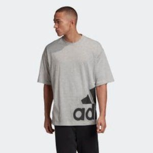 adidas Men's Big Badge of Sport Boxy Tee Shirt